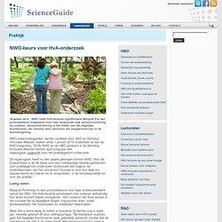 ScienceGuide: NWO-beurs voor HvA-onderzoek