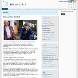 ScienceGuide - Bussemaker deelt uit