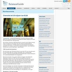 Chemelot wil 30 miljoen van EL&I