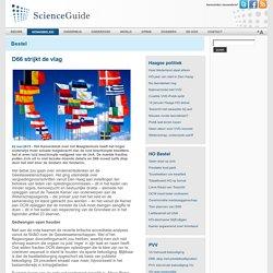 ScienceGuide - D66 strijkt de vlag