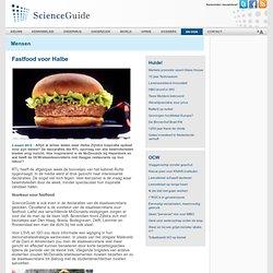 scienceguide: Fastfood voor Halbe