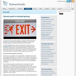 ScienceGuide: Onvoldoende ambitie en urgentie. Shell-topman Dick Benschop recenseert het kennisbeleid van Rutte-II,