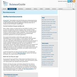 ScienceGuide: Delftse kenniseconomie