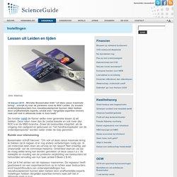 ScienceGuide - Lessen uit Leiden en lijden