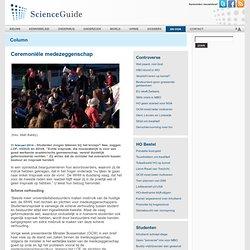 ScienceGuide: Ceremoniële medezeggenschap