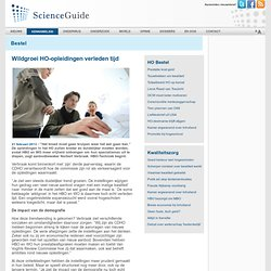 scienceguide: Wildgroei HO-opleidingen verleden tijd