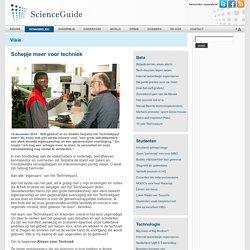 ScienceGuide - Schepje meer voor techniek