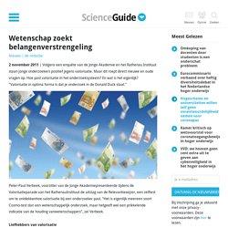 scienceguide: Wetenschap zoekt belangen verstrengeling