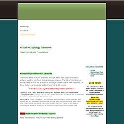 microbiologypowerpointpresentations - sciencepowerpoints