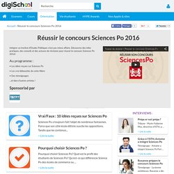 Sciences Po 2016 : réussir le concours des IEP