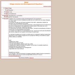 Sciences Po Avenir > Espace Etudiant