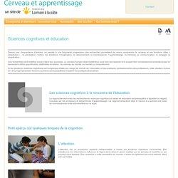 Sciences cognitives et éducation