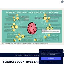 SCIENCES COGNITIVES CARTE MENTALE