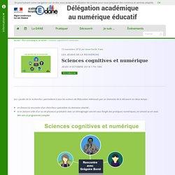 Sciences cognitives et numérique