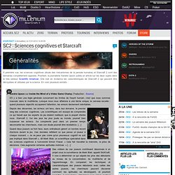 SC2 : Sciences cognitives et Starcraft - Starcraft 2
