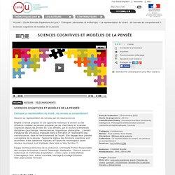 Sciences cognitives et modèles de la pensée - Ecole Normale Supérieure de Lyon