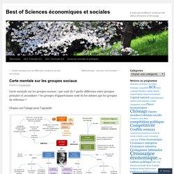 Best of Sciences économiques et sociales