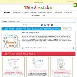 Corps humain : sciences et expériences autour du corps pour les enfants de 3 à 15 ans l CorpsTête à modeler
