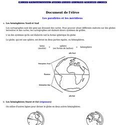 Sciences humaines - 6e année - Unité 1 - Écoles fransaskoises - Document de l'élève