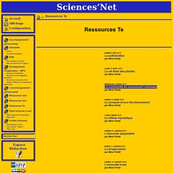 Sciences'Net -