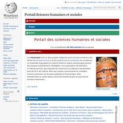 Portail:Sciences humaines et sociales