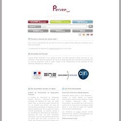 Persée : Portail de revues en sciences humaines et sociales