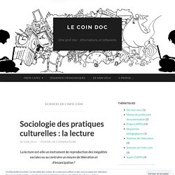 Sciences de l'info-com
