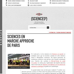 Sciences en marche approche de Paris