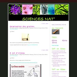 Sciences Nat'