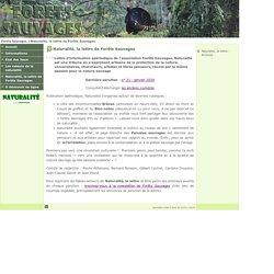 e-Sciences : Naturalité, la lettre de Forêts Sauvages