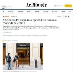 A Sciences Po Paris, les enjeux d'un nouveau mode de sélection