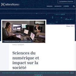 Sciences du numérique et impact sur la société