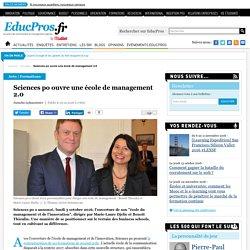 Sciences po ouvre une école de management 2.0