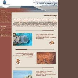 Images - Les Sciences de la Terre au lycée - Paléoclimatologie