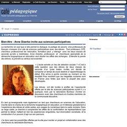 Bien-être : Anne Dizerbo invite aux sciences participatives