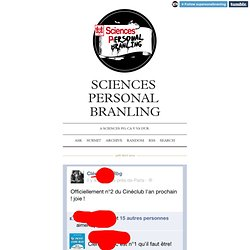 Sciences Personal Branling