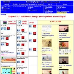 sciences physiques nouveau programme