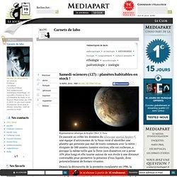 Samedi-sciences (127) : planètes habitables en stock !