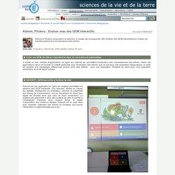 sciences de la vie et de la terre - Kahoot, Plickers : Evaluer avec des QCM interactifs.