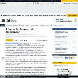 Sciences Po : honneur et déshonneur