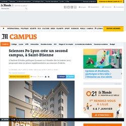 Sciences Po Lyon crée un second campus, à Saint-Etienne