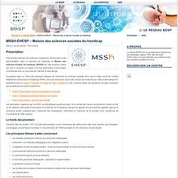MSSH-EHESP – Maison des sciences sociales du handicap