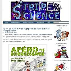 Apéro Sciences et Web #13 Spécial Sciences et BD: le Compte Rendu