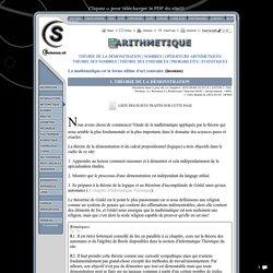 Sciences.ch (théorie de la démonstration)