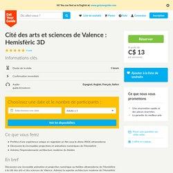 Cité des arts et sciences de Valence: Hemisfèric3D