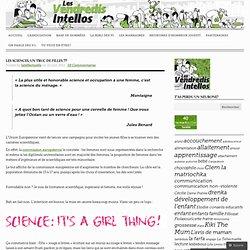 Les sciences, un truc de filles ???