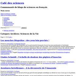 Sciences de la Vie