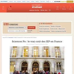 Sciences Po : le vrai coût des IEP en France