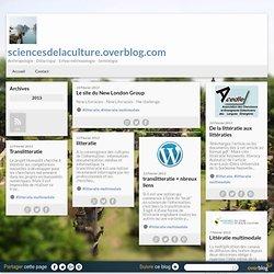 littératie multimodale - sciencesdelaculture.overblog.com