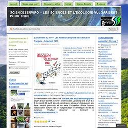 Lancement du livre – Les meilleurs blogues de science en français – Sélection 2013